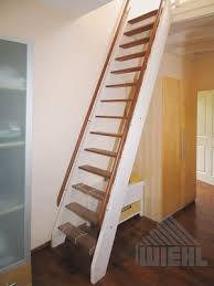 leiter f r treppe wiehl treppen raumspartreppen