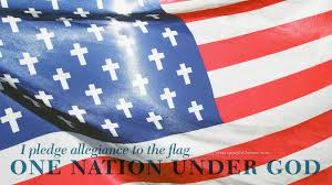 I Pledge Of Allegiance To The Flag Huckabee And The Heresy Of Americanism Christ And Pop Culture