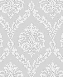 best 25 grey damask wallpaper ideas on pinterest black and grey