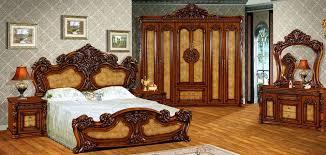 High Quality Royal Antique Bedroom Set Furniture Excellent Wooden - High quality bedroom furniture