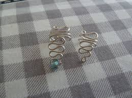 wire ear cuffs swirled wire ear cuff 9 steps with pictures