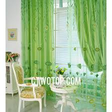 Green Sheer Curtains Fresh Cheap Lotus And Willow Leaf Lime Green Sheer