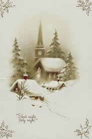 Leanin Tree Dog Christmas Cards by Endless Night In North Nakina On Canada Blessed Little Town