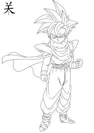6 pics of gohan coloring pages teen gohan ssj2 coloring pages