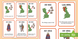 viking timeline cards vikings history timeline