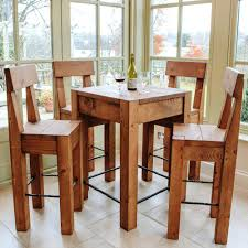 Rustic Pub Table Set Rustic Pub Table Sets Home Table Decoration
