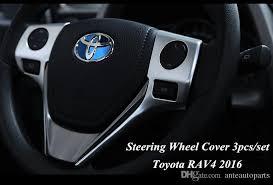 toyota rav4 steering wheel cover arrival for toyota rav4 2016 abs chrome matte steering wheel