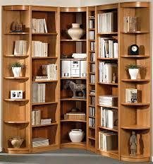 Corner Bookcase Wood Modern Wooden Large Corner Bookcase Ideas 35 Laredoreads