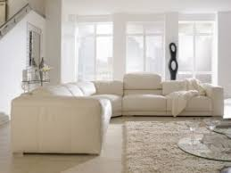 Leather And Fabric Armchair Leather And Fabric Sectional Sofas Foter