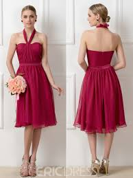 convertible bridesmaid dresses ericdress stylish a line tea length convertible bridesmaid dress