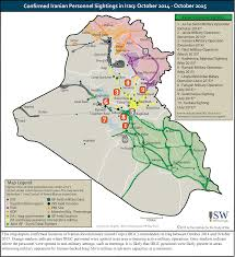 A Map Of The Middle East by A Map Of Who Controls The Ground In Iraq As Of Sep U002715 Overlaid