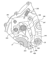patent us6691815 parking gear assembly for an all terrain