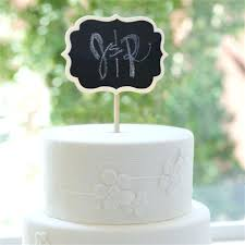 chalkboard wedding cake topper best toppers images on cakes and