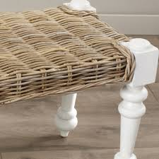 Wicker Rattan Dining Chairs Furniture New Entrancing Model Of Rattan Bench For Gorgeous Home