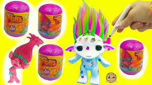 maker color design a rainbow hair zelf trolls movie surprise