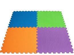 tappeti puzzle teorema 72465 tappetini puzzle giganti 60 x 60 cm colori