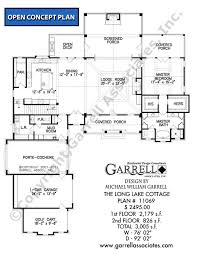cottage house floor plans lake cottage house plan house plans by garrell associates inc