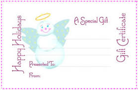 christmas printable gift certificates rainforest islands ferry