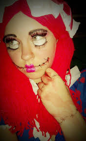 Creepy Doll Costume Creepy Doll Halloween Costume Creepy Doll Costume By Aubryger On