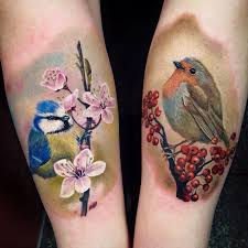 blue u0026 robin by nancy mietzi http tattooideas247 com blue