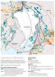 Map Of Russia And Alaska by Breaking The Ice Survival Lessons From A Changing Arctic Audubon