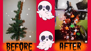 diy halloween christmas tree under 16 youtube