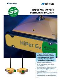 hiper ga gb topcon pdf catalogue technical documentation