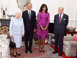 the obama s what the obamas wore to queen elizabeth ii s birthday lunch