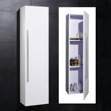 Bathroom Corner Wall Cabinets White - high gloss bathroom cabinets white descargas mundiales com