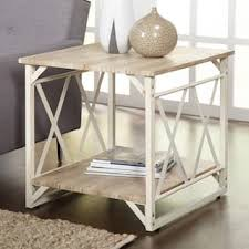 Rustic Metal Coffee Table Rustic Coffee Console Sofa End Tables For Less Overstock