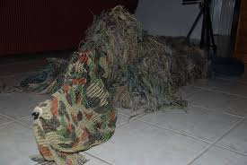 Ghillie Suit Halloween Costume Ghillied Sniper 6 Steps