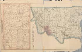 Butler County Ohio Map by Butler County 1875 Atlas