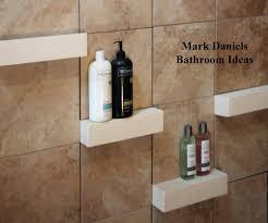 glass corner shelves for tile shower goof proof shelf home depot