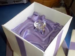sugar siren cakes mackay ring box engagement cake