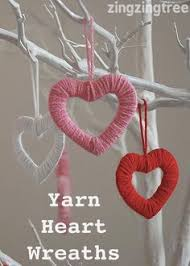Diy Valentine S Day Office Decor by Simply Stylish Easy Wool Heart Wreath Decorations Heart Wreath
