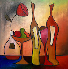 martini glass acrylic painting cocktail art fine art america