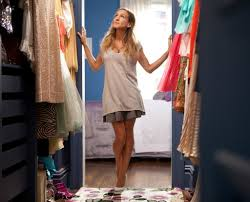 how to make a small closet feel larger more organized glamour