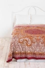 Orange Comforter Orange Paisley Bedding Foter