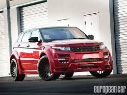 hamann land rover 2012 range rover evoque european car magazine