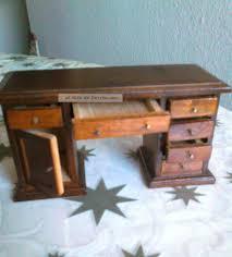 Schreibtisch Holz Schubladen Puppenstuben Schreibtisch Holz Antiker Stil Mit Ausziehb
