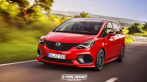 Facelifted Opel Zafira Would Look Good With Opc Body Kit