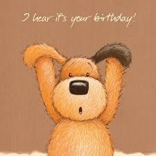 birthday bear with pink balloon happy birthday card