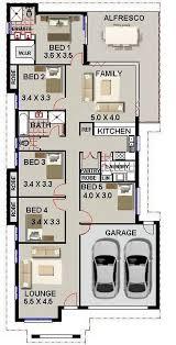 Best Australian Home Design Images On Pinterest Floor Plans - Narrow block home designs