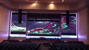 thailand p6 large indoor led display screen youtube