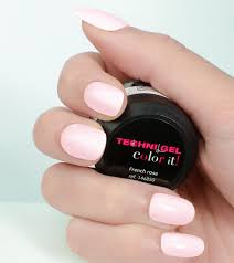 french color it coloured uv u0026 led nail gel french rose color