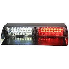 red and white led emergency lights amazon com xkttsueercrr red white car 16 led 18 flashing mode