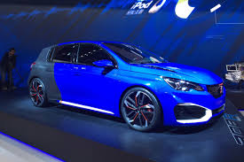 Peugeot 308 Auto Express by Shock 493bhp Peugeot 308 R Hybrid Prepares For Shanghai Blast Off