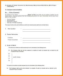 15 format of writing tender quotations appication letter
