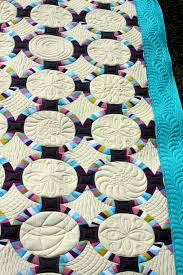 Wedding Ring Quilt by Quilt Inspiration Single Wedding Ring Quilts
