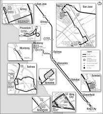 San Jose Bus Routes Map by 86 Monterey Salinas Transit